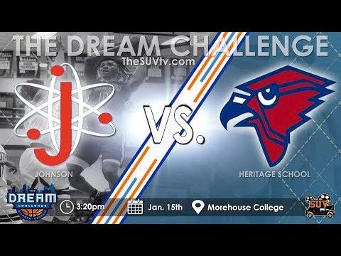 The Dream Challenge: The Heritage School vs. Johnson (Savannah)