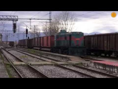 Special Rescue Train from Thessaloniki to Plati Sugar Factory, December 2014