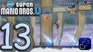 New Super Mario Bros U Walkthrough - Part 13 - Meringue Clouds