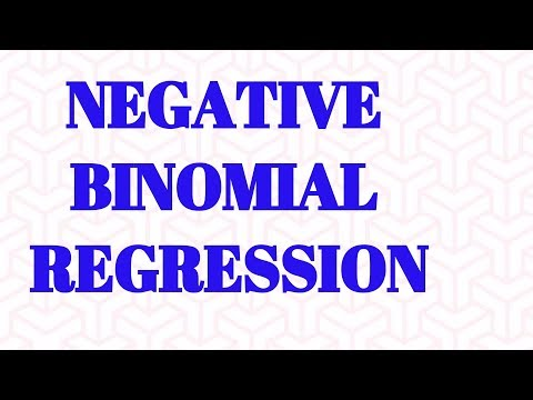 Negative Binomial Regression model | Statistical model