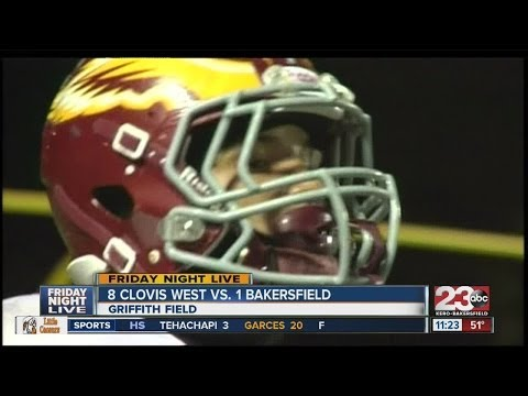 23FNL: HIGHLIGHTS, Clovis West vs. Bakersfield