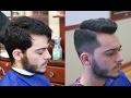 Classic Haircut and Beard Shape up
