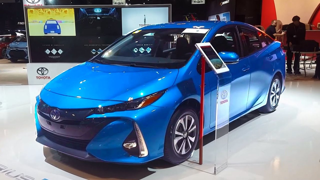 2018 Toyota Prius Prime Review Walkaround Features Specifications