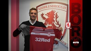 Jonathan Woodgate's First Interview As Boro Head Coach