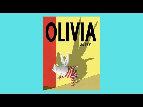 Olivia the Spy by Ian Falconer Children's Book Read Aloud