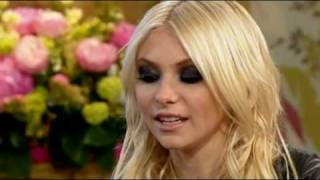 Taylor Momsen says shit and seems awkward on This Morning 10th May 2010
