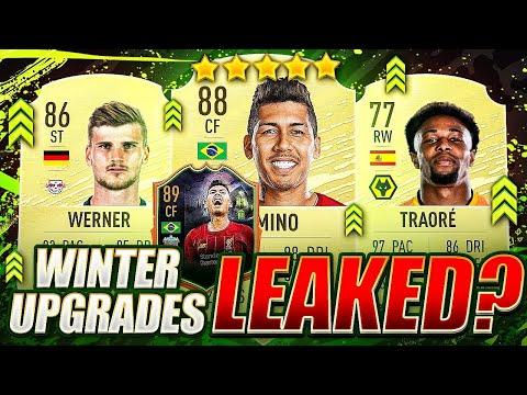 Leaked FIFA 20 Winter Upgrades?
