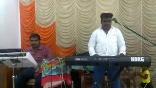 Ellame Mudinthathu endru levi 2 Bro.john jebaraj song only music.keybord:Marshal Diddo & pad:Taittas