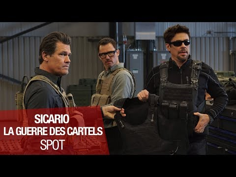 SICARIO LA GUERRE DES CARTELS - Spot - VOST