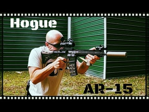 Hogue AR-15 Rubber Overmolded Stock Review (HD)