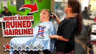 Haircut at the Worst Reviewed Barber in my City (1 STAR)