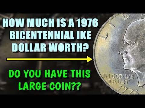 How Much Is A 1976 Bicentennial Eisenhower Dollar Worth? - Do You Have This Coin?