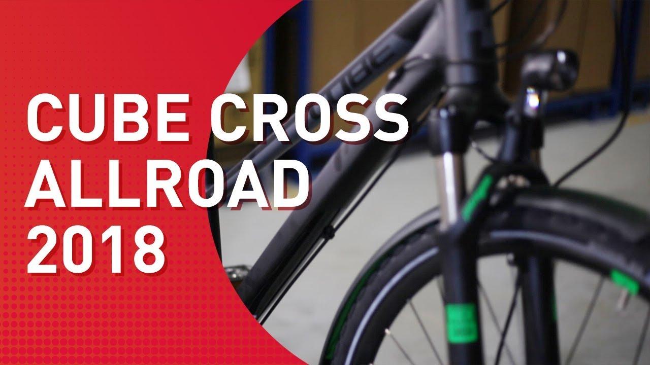 Cube Cross Allroad 2018 Crossbike Youtube