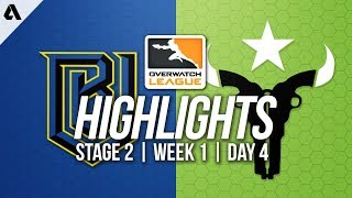 Boston Uprising vs Houston Outlaws | Overwatch League Highlights OWL Stage 2 Week 1 Day 4
