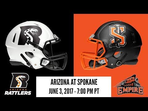 Week 16 | Arizona Rattlers at Spokane Empire