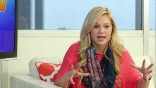 "Olivia Holt Talks ""Girl Vs. Monster"" & Music"