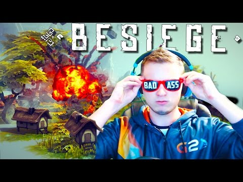 MOST BAD @SS CREATION! | Besiege Funny Moments #1