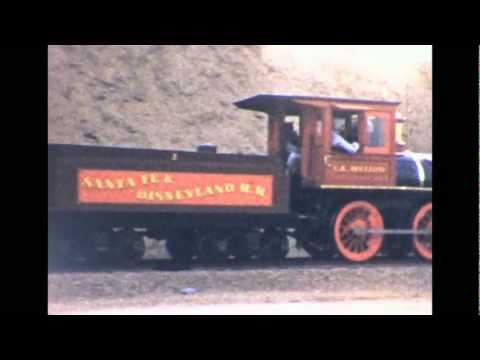 Disneyland History 1955 - The Frontier Train