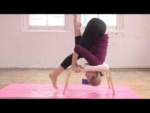 tabouret de yoga feetup ®  présentation en anglais par