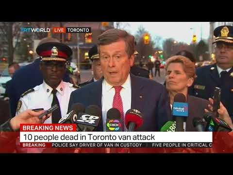 Toronto's Mayor John Tory on van attack