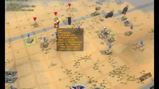 Battle Academy Western Desert Scenario 3.avi