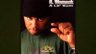 G.Womack feat. Mike Jones, Big Tigger - Groove Wit You (Remix) 2004