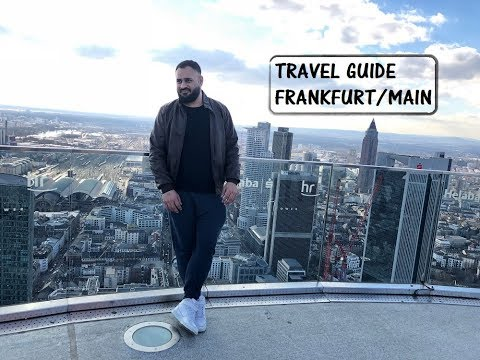 Frankfurt Travel Guide I Top 8 Tourist Attractions I Best things to see in Frankfurt, Germany