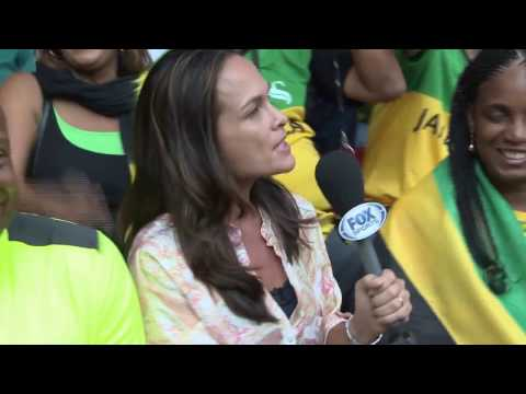 2015 World Athletic Championships in Beijing China (Fox Sports Interview)