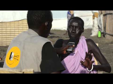 Hellen Toby, journalist at Eye Radio in South Sudan