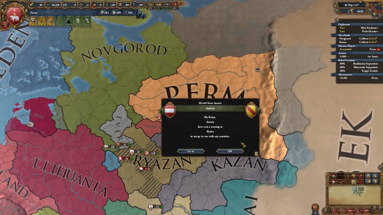 EUIV - Great Perm Story of a Failure!