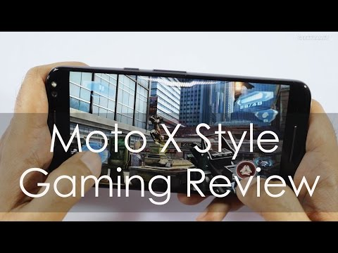 Moto X Style Gaming Review with Temp Check