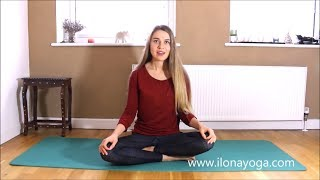 Yoga for tailbone / coccyx pain • 10 min simple stretches for pain relieve