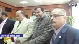 بالفيديو.. محافظ الدقهلية ومدير الأمن يستقبلان وفدا من حزب المستقلين الجدد