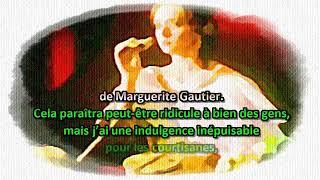 Gambar cover La Dame Aux Camélias 1 /2 audio et texte français DUMAS, Alexandre Fils