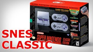 I Finally Got The SNES Classic