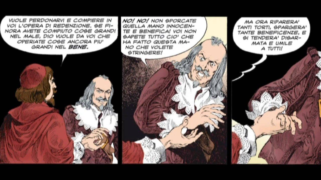 I promessi sposi a fumetti la conversione dell 39 innominato for Sposi immagini