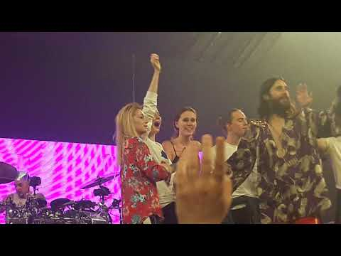 Thirty Seconds to Mars Rescue Me + Jared is talking Stockholm 2018