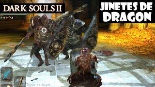 Dark Souls 2 guia: JINETES DE DRAGON y Castillo de Drangleic || Gameplay y trucos || Episodio 56