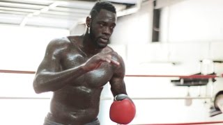 Undefeated WBC Heavyweight World Champion Deontay Wilder has been working hard to get back into the ring after completing rehab for a fractured right ...