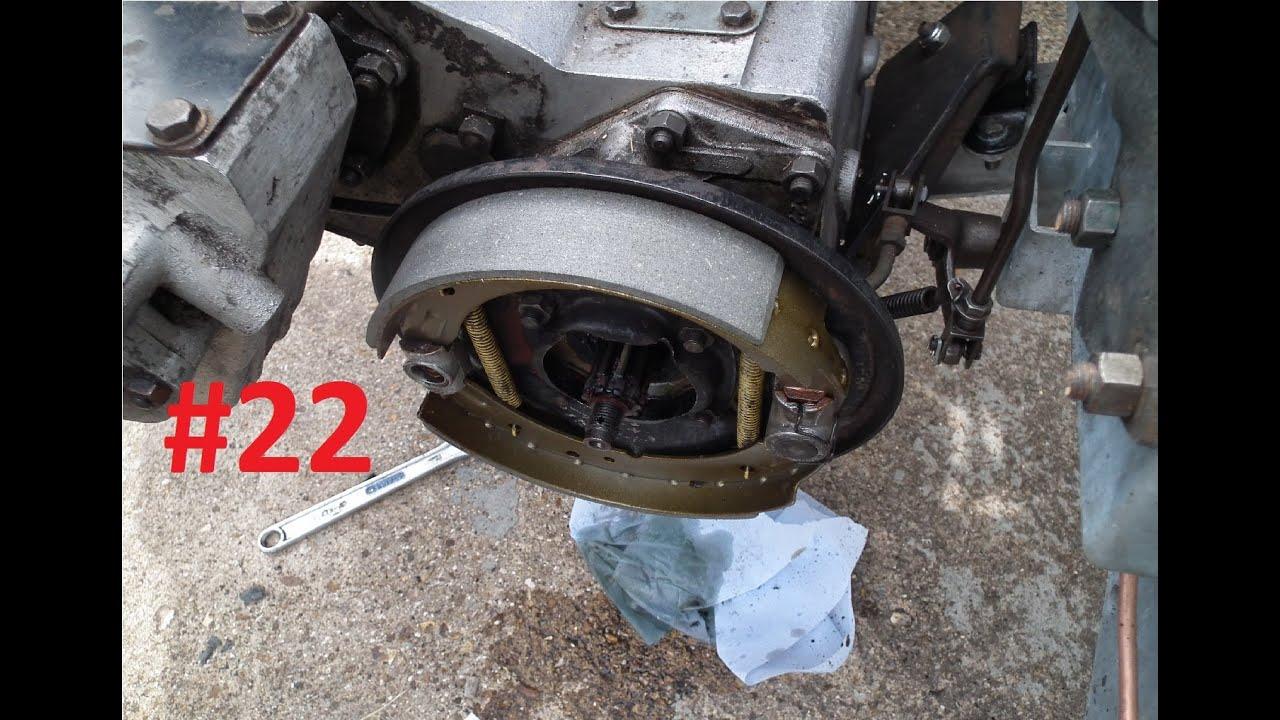 Land Rover Series 3 Restoration Handbrake Shoes [22