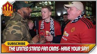 Man Utd will go through! Manchester United 0-2 PSG FanCam