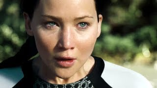 the hunger games catching fire official trailer hd jennifer lawrence