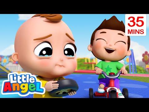 Happy Or Sad Song + More Little Angel Kids Songs & Nursery Rhymes