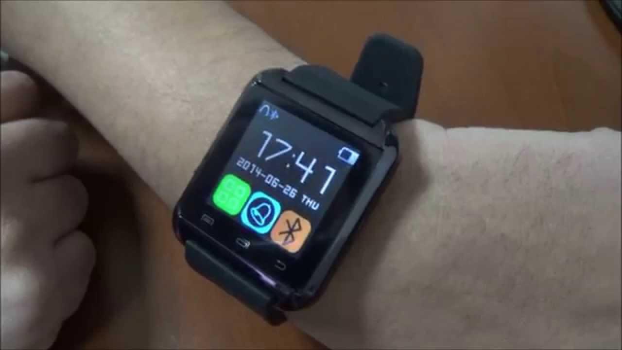 7855659b7 Smart Watch U8 Bluetooth, Reloj digital para celulares! - YouTube