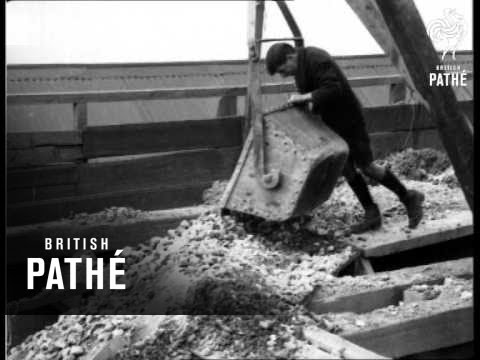 Tinstone - How It Is Obtained In A Cornish Mine (1933)