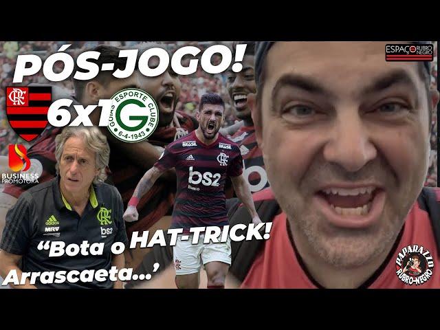 Pós-Goleada! Flamengo 6x1 Goiás! Entrevistas com Jorge Jesus e Jogadores! Arrascaeta arrebentou!