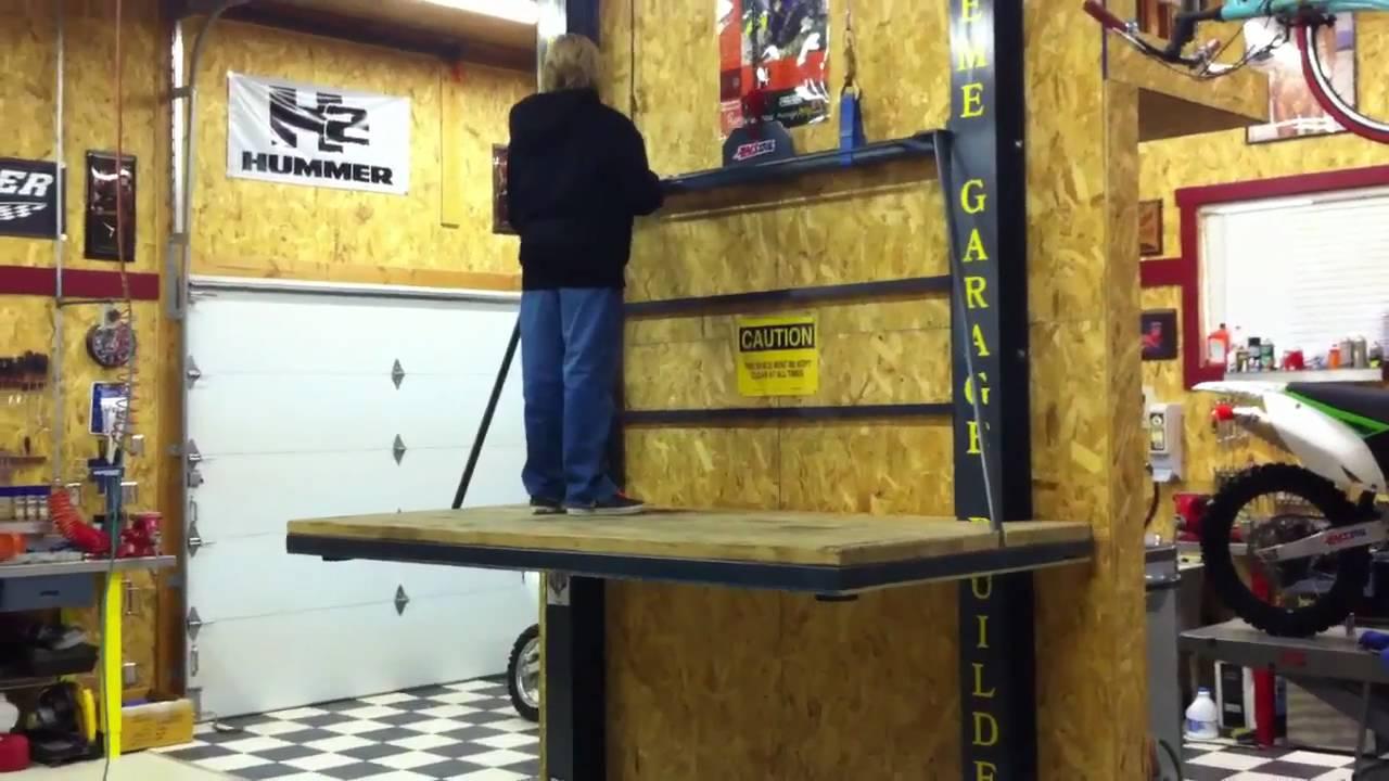 Landmark Garages Elevator Demo Youtube
