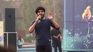 Shubham khillari new poetry || Dtu's literary fest || best poetry || viral videos