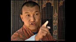 When Phurpa Thrinley Becomes Angry. (Bhutanese Comedian Loses His Temper)
