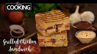 Grilled Chicken Sandwich | Sandwich Recipes | Bread Recipes